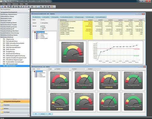 4. Produktbild Bau für Windows - integrierte Lösung für Bauunternehmen