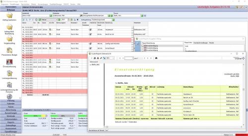 Einsatzerfassung und Ausgabe im C&S KlientenManager