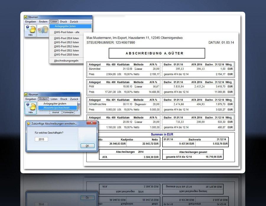6. Produktbild fibuman - Finanzbuchhaltung - Buchhaltungssoftware