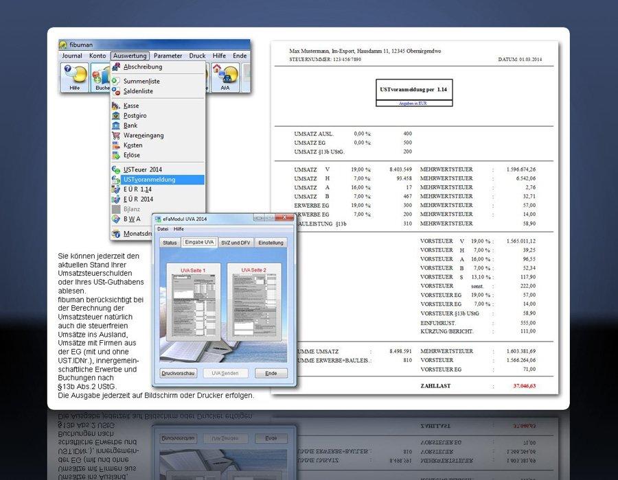 4. Produktbild fibuman - Finanzbuchhaltung - Buchhaltungssoftware