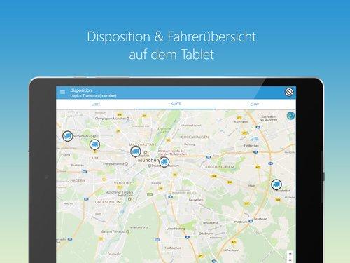 1. Produktbild Connect Transport - Transport Management System