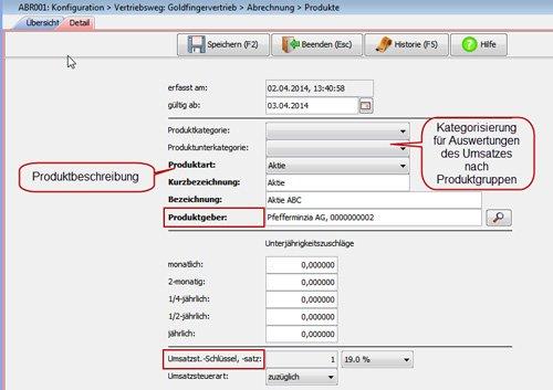 2. Produktbild FABIS Provisionsabrechnung Provisionssystem
