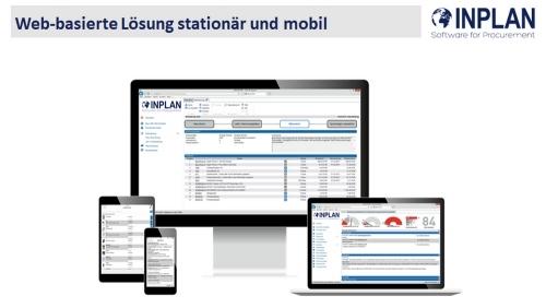 Web-basierte Lösung: stationär und mobil
