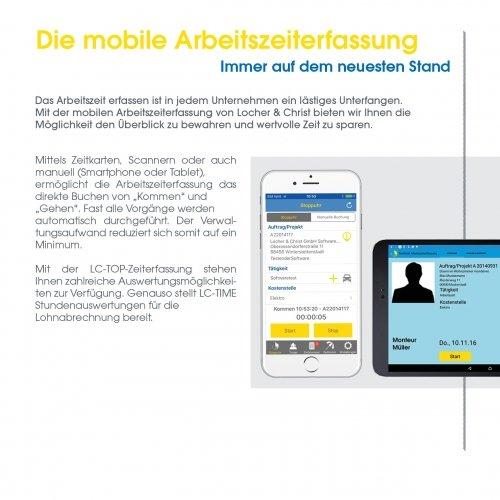 Die mobile Arbeitszeiterfassung
