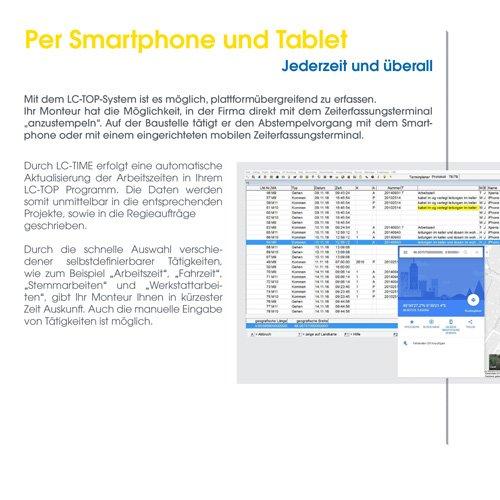 23. Produktbild LC-TOP - Handwerkersoftware für die Auftragsbearbeitung