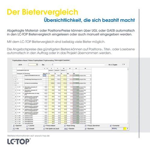 33. Produktbild LC-TOP - Handwerkersoftware für die Auftragsbearbeitung