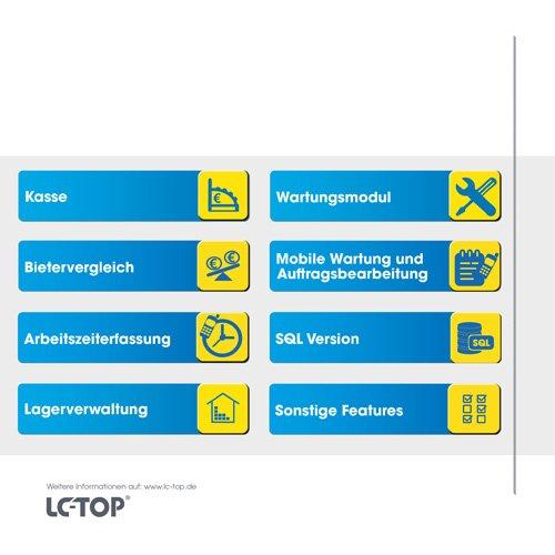 9. Produktbild LC-TOP - Handwerkersoftware für die Auftragsbearbeitung