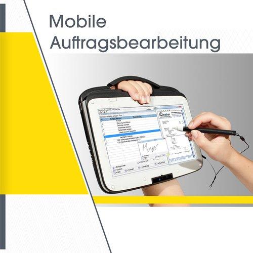 Mobile Auftragsbearbeitung