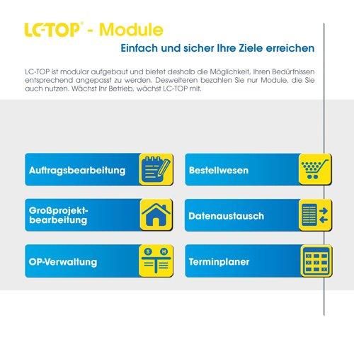 LC-Top ist modular aufgebaut