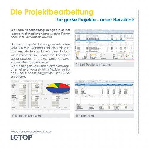 Die Projektbearbeitung