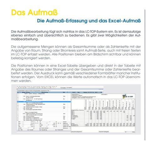 12. Produktbild LC-TOP - Kalkulationssoftware für GAEB