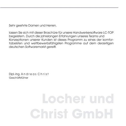2. Produktbild LC-TOP - Kalkulationssoftware für GAEB