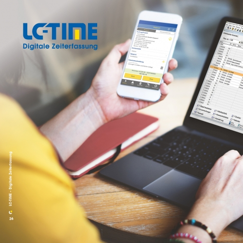 LC-TIME - Digitale Zeiterfassung