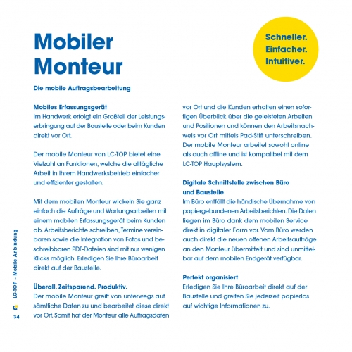 Mobiler Monteur - Die mobile Auftragsbearbeitung