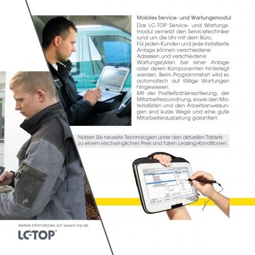 Mobiles Service- und Wartungsmodul