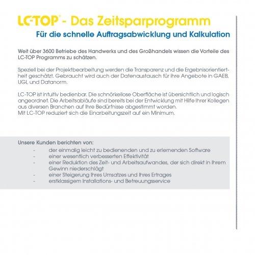LC-TOP - Das Zeitsparprogramm