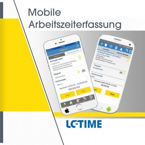 LC-TIME - Mobile Arbeitszeiterfassung