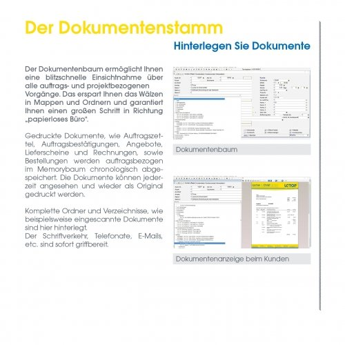 Der Dokumentenstamm