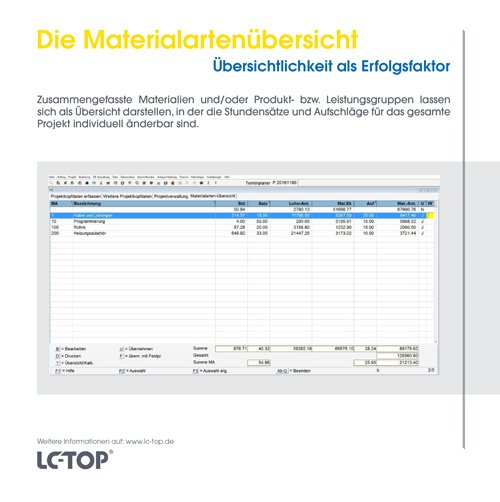 13. Produktbild LC-TOP Mobil - Handwerksprogramm zur mobilen Auftragsbearbeitung