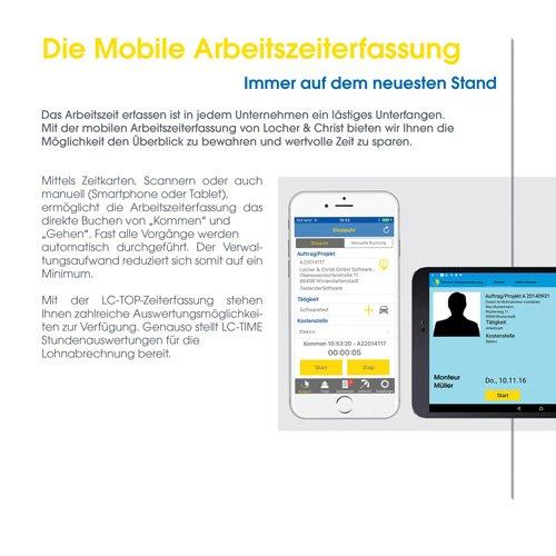 21. Produktbild LC-TOP Mobil - Handwerksprogramm zur mobilen Auftragsbearbeitung