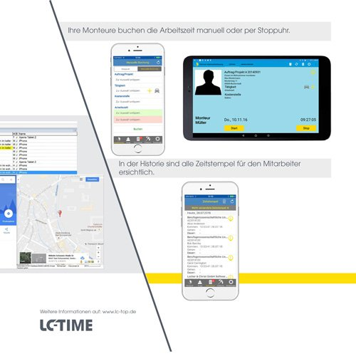 24. Produktbild LC-TOP Mobil - Handwerksprogramm zur mobilen Auftragsbearbeitung