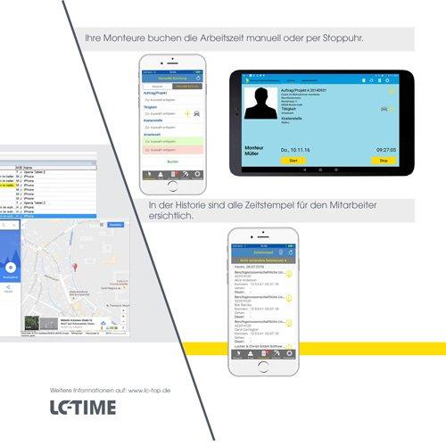 24. Produktbild LC-TOP-Zeiterfassung - Arbeitszeitenprofile Ihrer Mitarbeiter