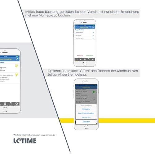 26. Produktbild LC-TOP-Zeiterfassung - Arbeitszeitenprofile Ihrer Mitarbeiter