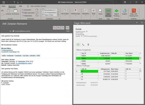 Beispiel Outlook Add-In