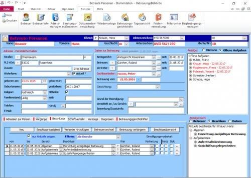 2. Produktbild Tau-Office BetreuungsBehörde
