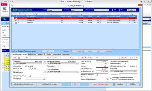 1. Produktbild Tau-Office Schuldnerberatung