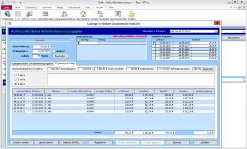 2. Produktbild Tau-Office Schuldnerberatung
