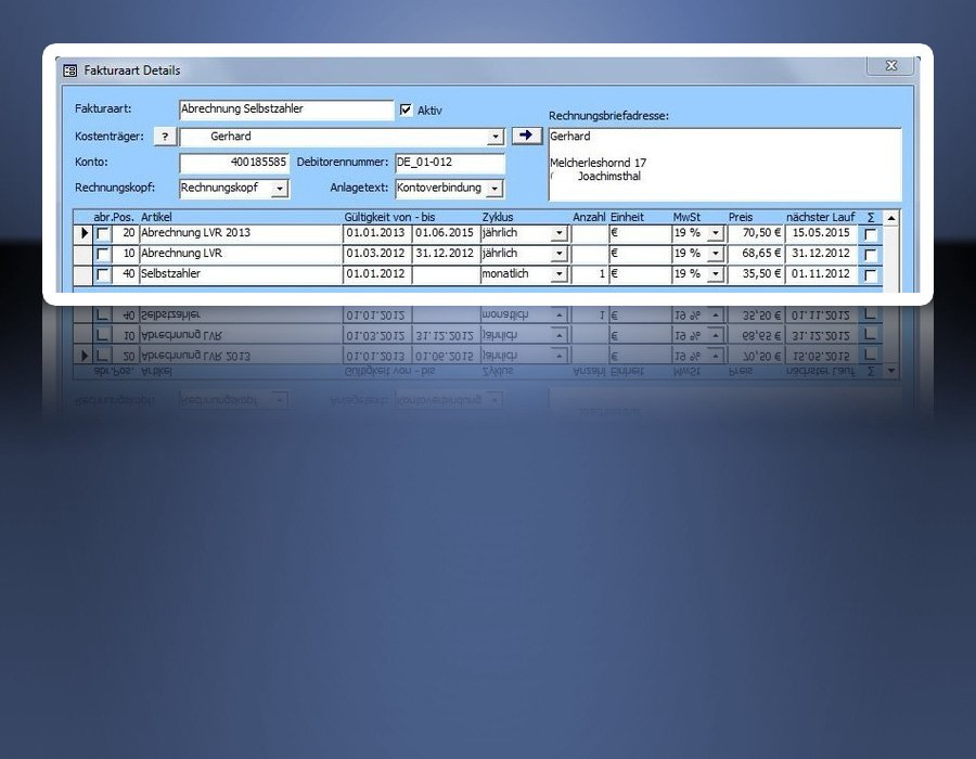 4. Produktbild Tau-Office Betreutes Wohnen