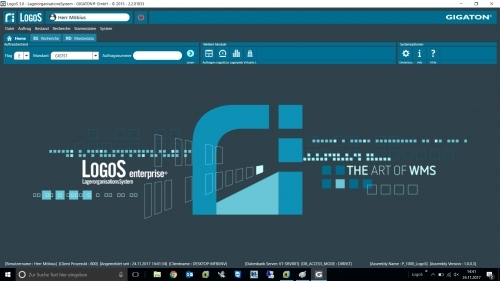 LogoS Client Hauptmenü
