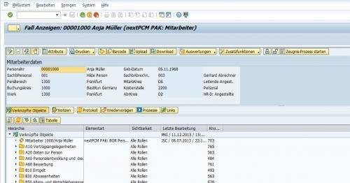 1. Produktbild EASY PCM Personnel File - Die digitale Personalakte in SAP