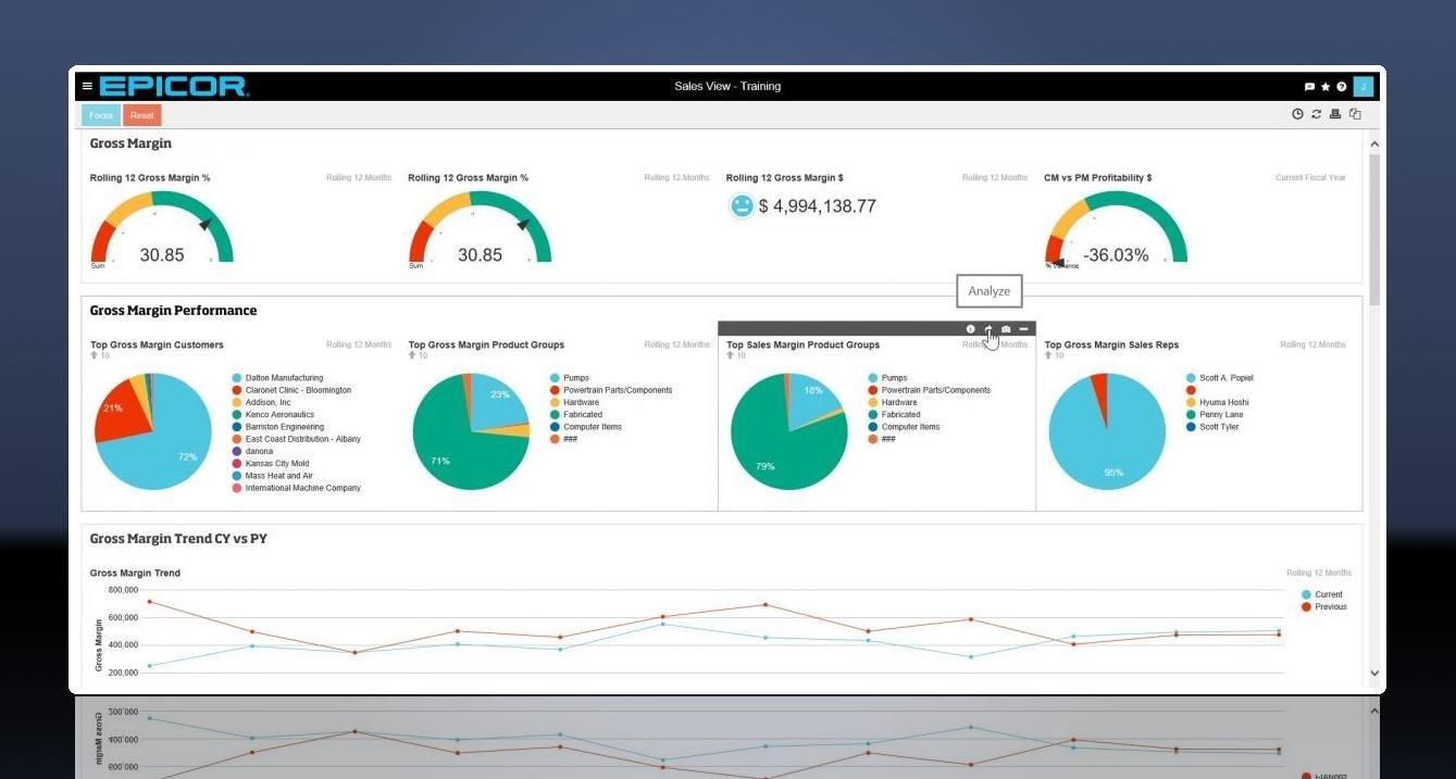Epicor Data Analytics 1