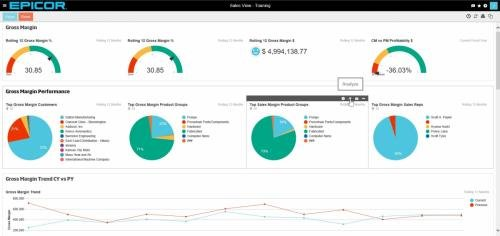 Epicor Data Analytics 1