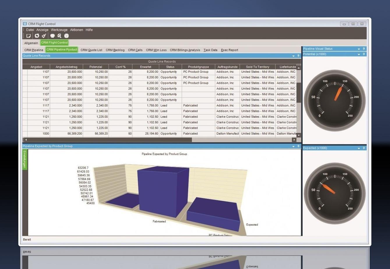Epicor ERP 10 Dashboard 2