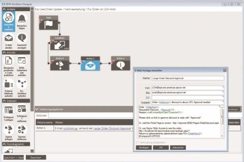 Epicor ERP 10 Workflow Designer