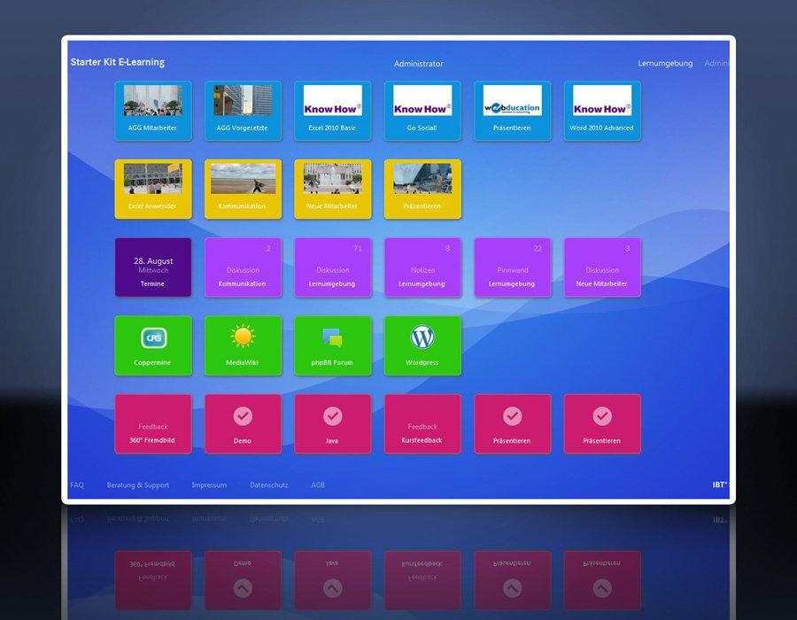 2. Produktbild IBT SERVER-Software für Lern- und Trainingsmanagement