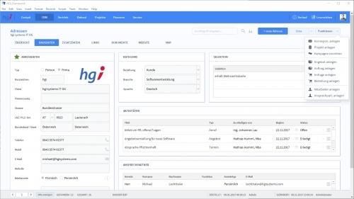 Adressen und Kontakte im OfficeAssistant verwalten