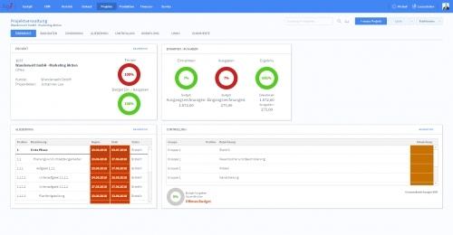 Projektverwaltung - Übersicht