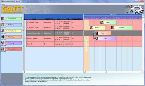 4. Produktbild Gantt Control