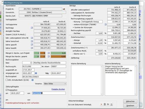 8. Produktbild AMADEUS iX - Kaufmännisches Projektmanagement für Bauträger