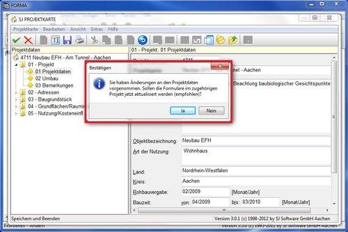 3. Produktbild SJ FORMA - Formularsoftware für Bauantrag / Baugenehmigung