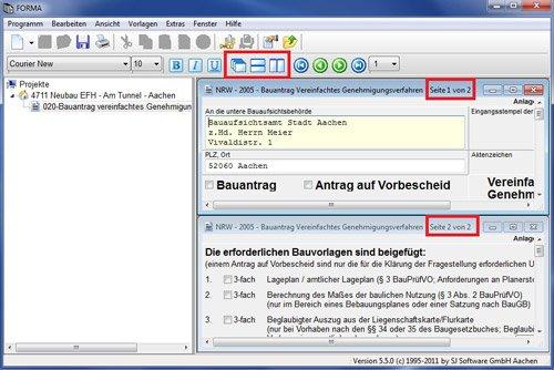 5. Produktbild SJ FORMA - Formularsoftware für Bauantrag / Baugenehmigung