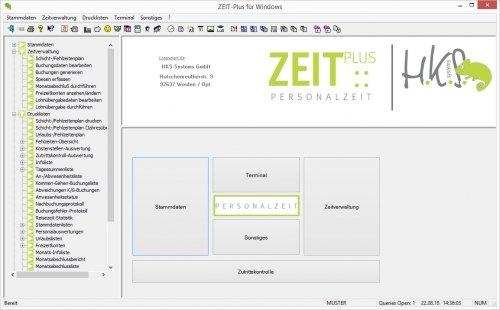 Workflow ZEIT::Plus