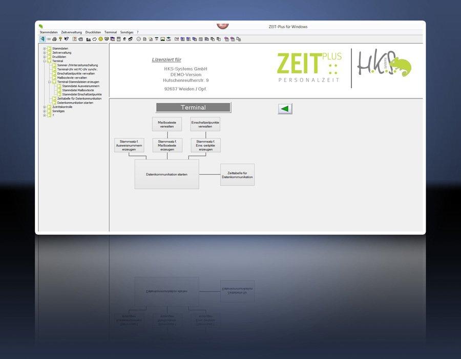 4. Produktbild ZEIT-Plus Zeiterfassung