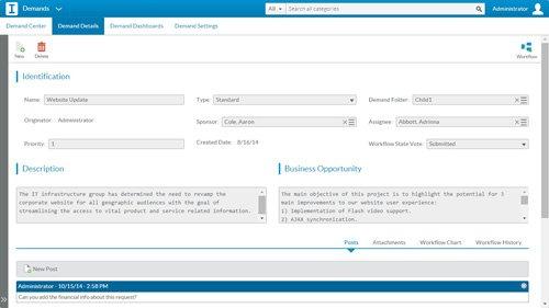 6. Produktbild Sciforma Projekt- und Portfoliomanagement