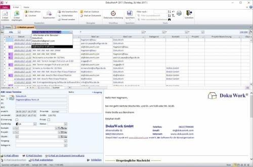 10. Produktbild DokuWork kombiniert CRM mit Dokumenten-Management und Projekten