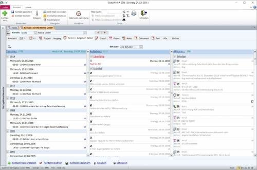 3. Produktbild DokuWork kombiniert CRM mit Dokumenten-Management und Projekten